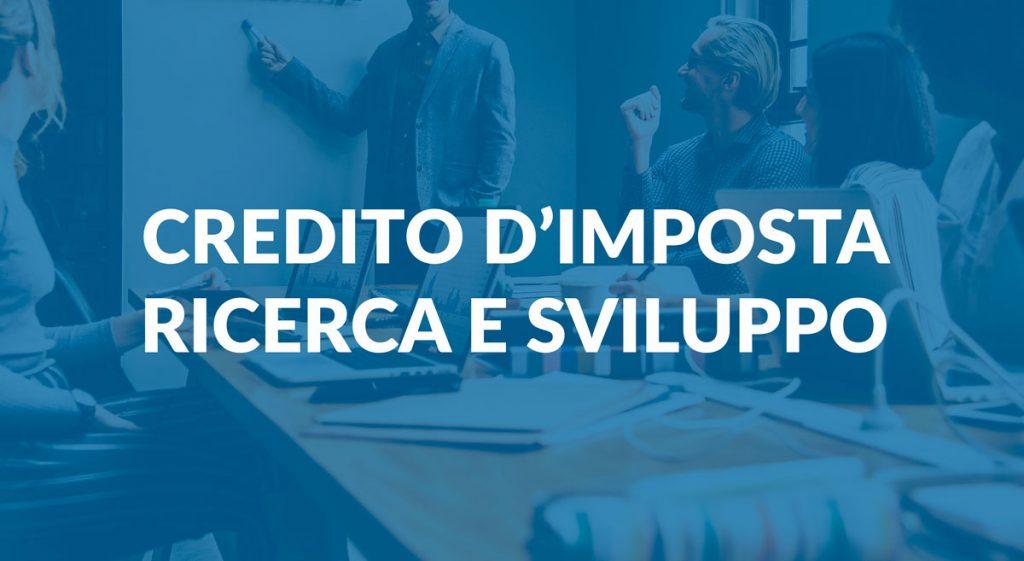 credito imposta ricerca e sviluppo