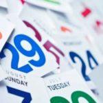nuovo calendario fiscale 2020